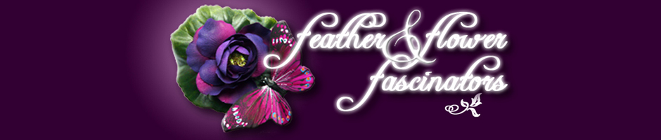 feather and flower logo